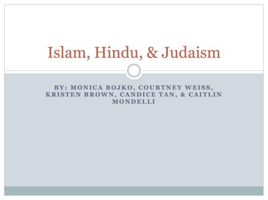 Islam  hindu    judaism thumb