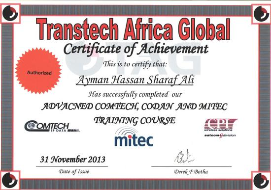Tag comtech codan and mitec advance course 001 cv