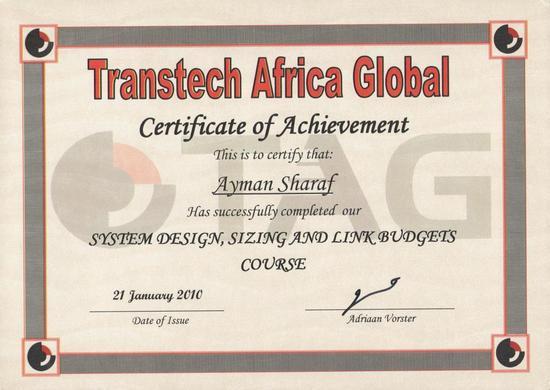 Tag system desigh and link budjet 001 cv