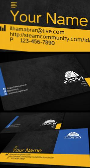 Munkit bussiness card preview cv