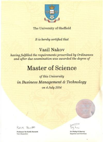 Diploma vasko cv