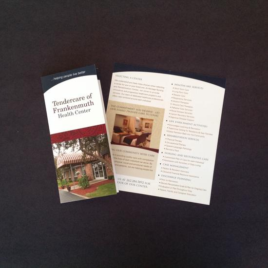 Center brochure 4 cv