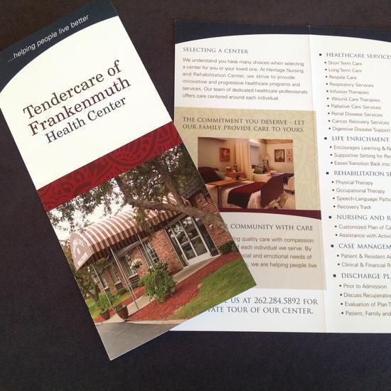 Center brochure 3 cv