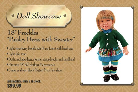 Showcase freckles 6x4 cv