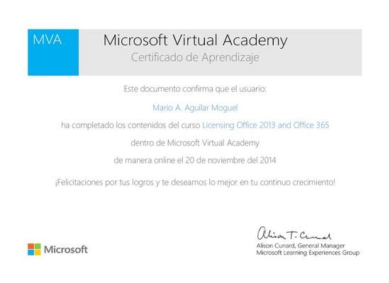 Licencing office 2013 and office365 cv
