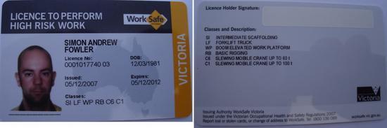 20101102   worksafe ticket   c1 cv