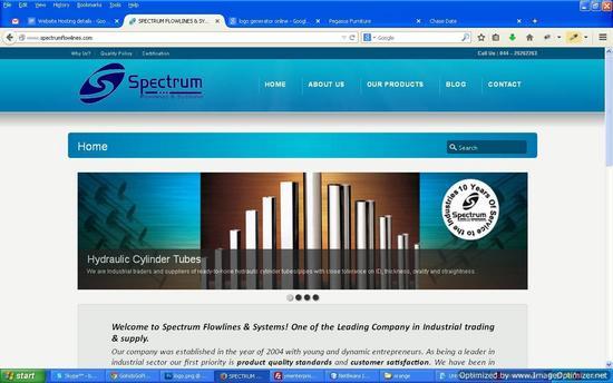 Spectrum flowlines cv