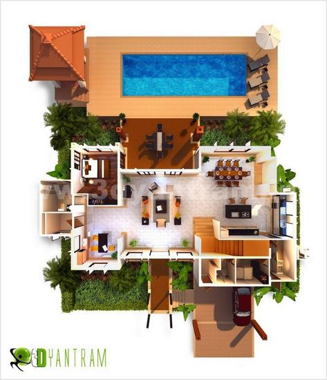 3d floor plan home cv