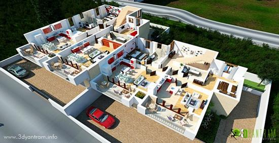 3d home floor plan cv