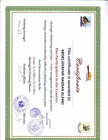 Fakii passport certificate cv