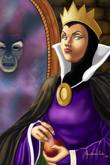 Evil queen 30x45 cv