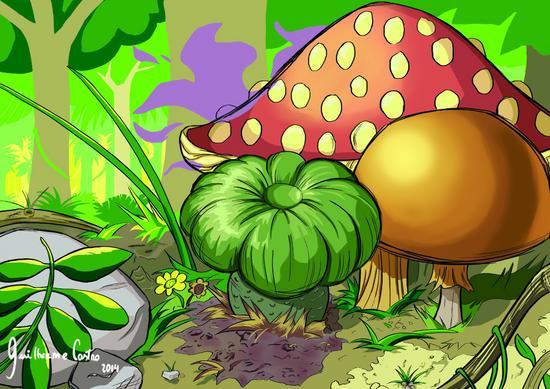 Cogumelo  5  cv