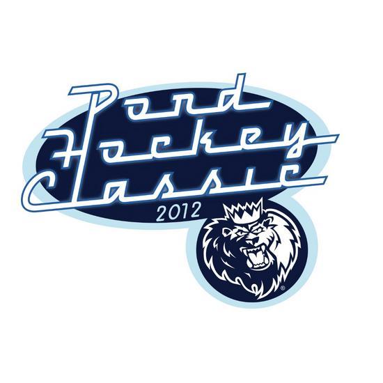 Pond hockey classic logo cv