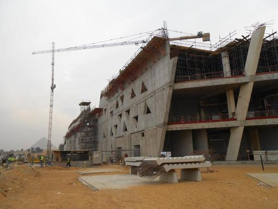 Grand egyptian museum in construction cv