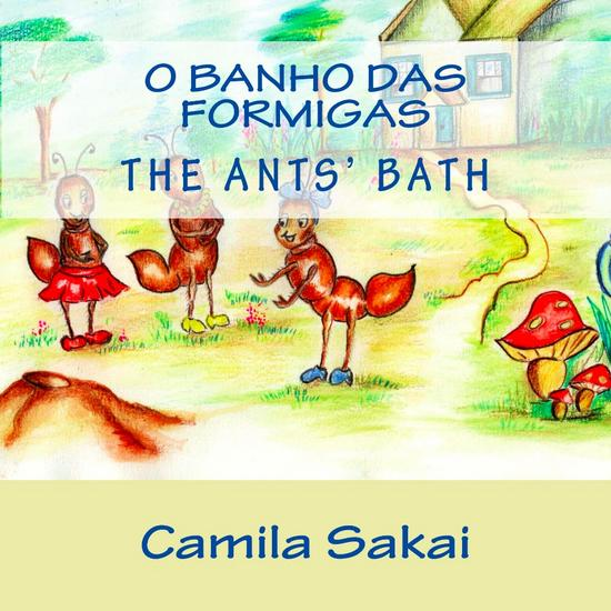 O banho das formigas cover for kindle cv