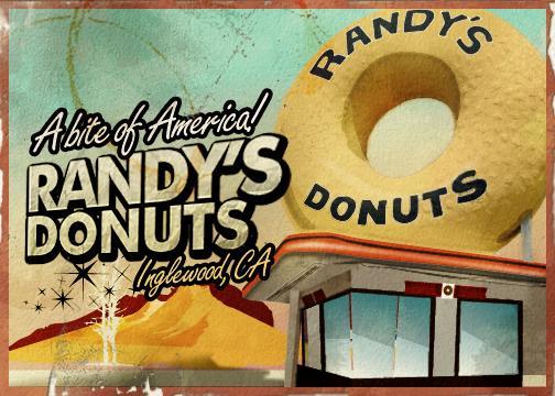 Randys donuts postcard cv