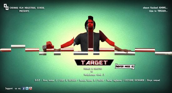 Target poster cv