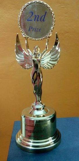 Target 2nd prize   trophy cv