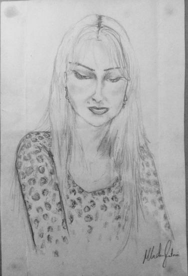 Drawing study  alana  2002 cv