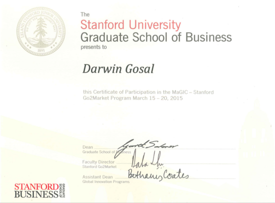 Stanford gbs cv