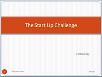 Front page start up challenge cv