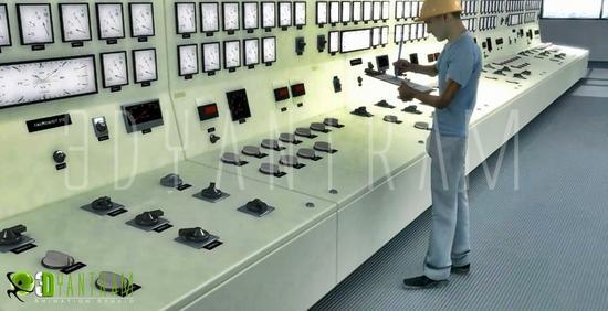 3d manufacturing plants modeling cv