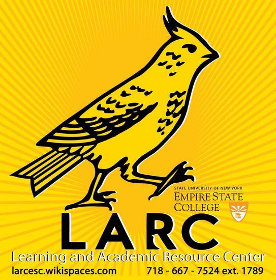 Larc logo text cv