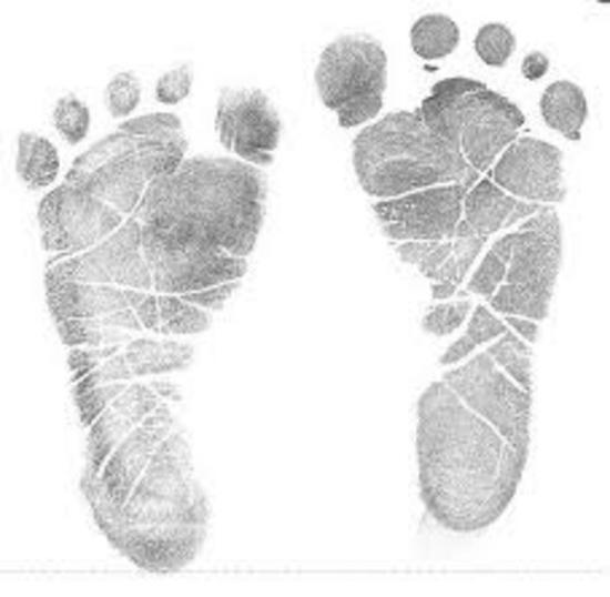 Baby footprints thumb