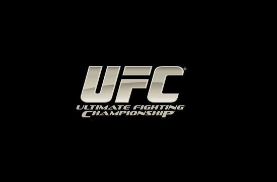 Ufc logo black bkgd cv