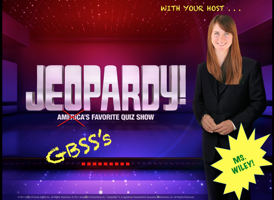 Powerpoint jeopardy cv