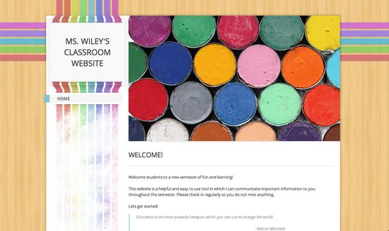 Ms wiley web page cv