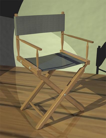 3d chair cv