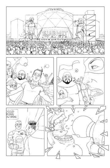 Page 8 layout cv