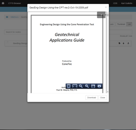 Ctfs pdf document cv