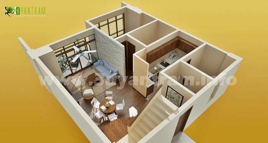 3d floor plan 5 js cv