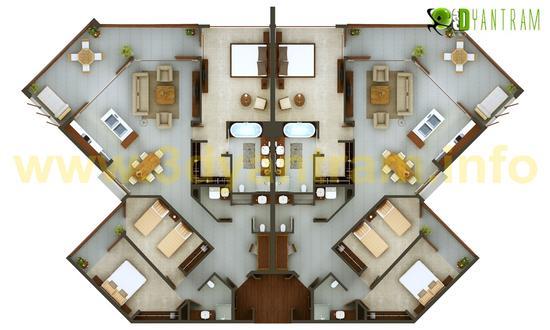 3d floor plan 7 js cv