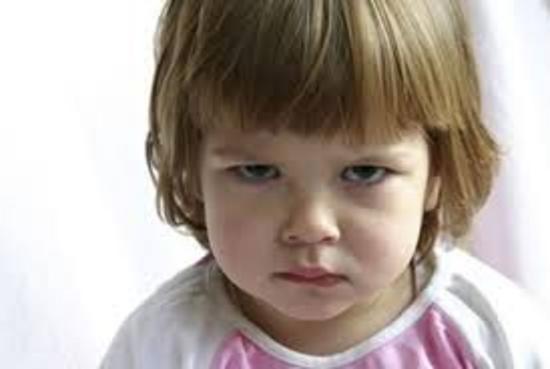 Angry child thumb