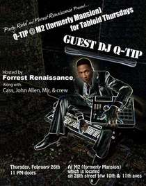 Q tip m2 formerly mansion for tabloid thursdays copy 800 cv