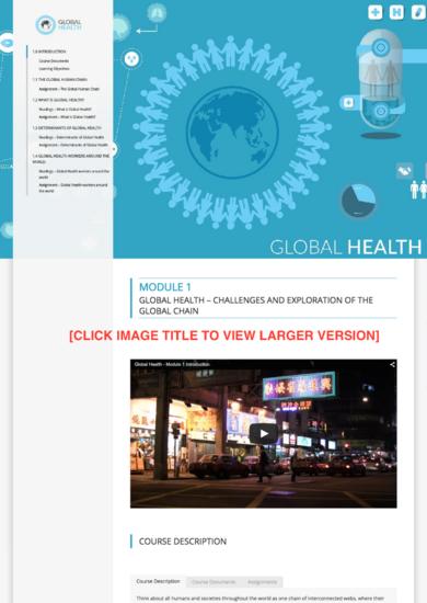 Umiami globalhealth modulecontent version2.0 samplethunb cv