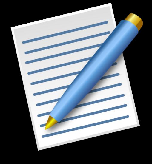 Pen and paper hi thumb
