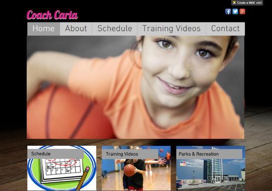 Coach carla cv