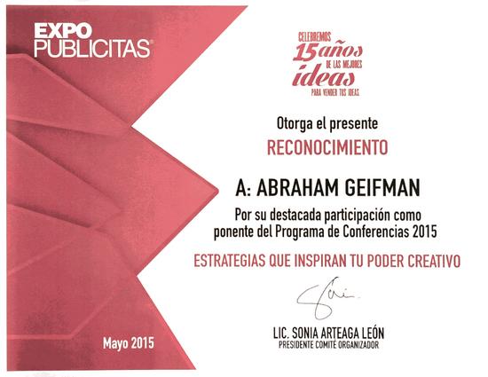 Diploma expo publicitas cv