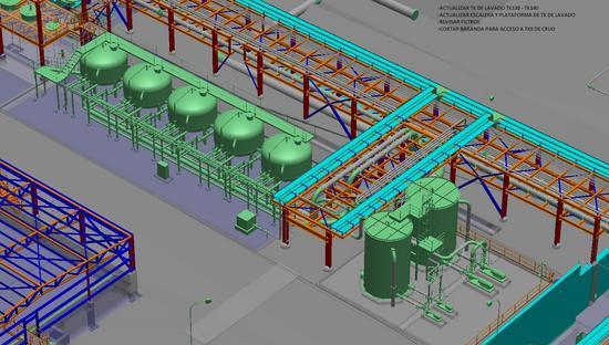 Area 4200 tk de lavado y filtros de electrolito cv