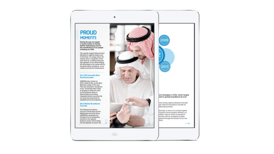 Mobily annual report cv
