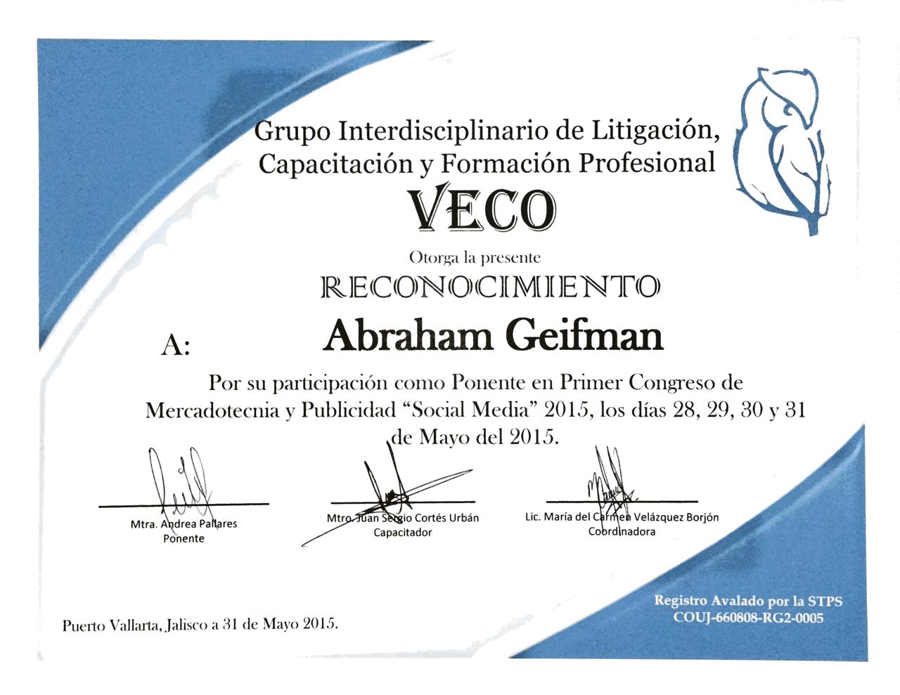 Abraham Geifman Mercad 211 Logo Estratega Digital Y