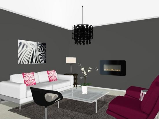 Condo w grey white and pink shannon modrell interiors cv