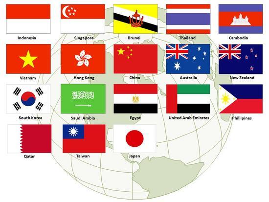 Flag master japan cv