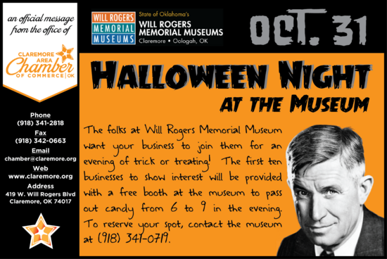 Halloween night at the museum cv