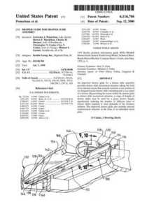 Patent 6116706 drawer guide cv