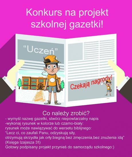 Projekt gazetki szkolnej 2 cv